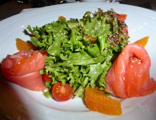 smoked salmon salad Porto