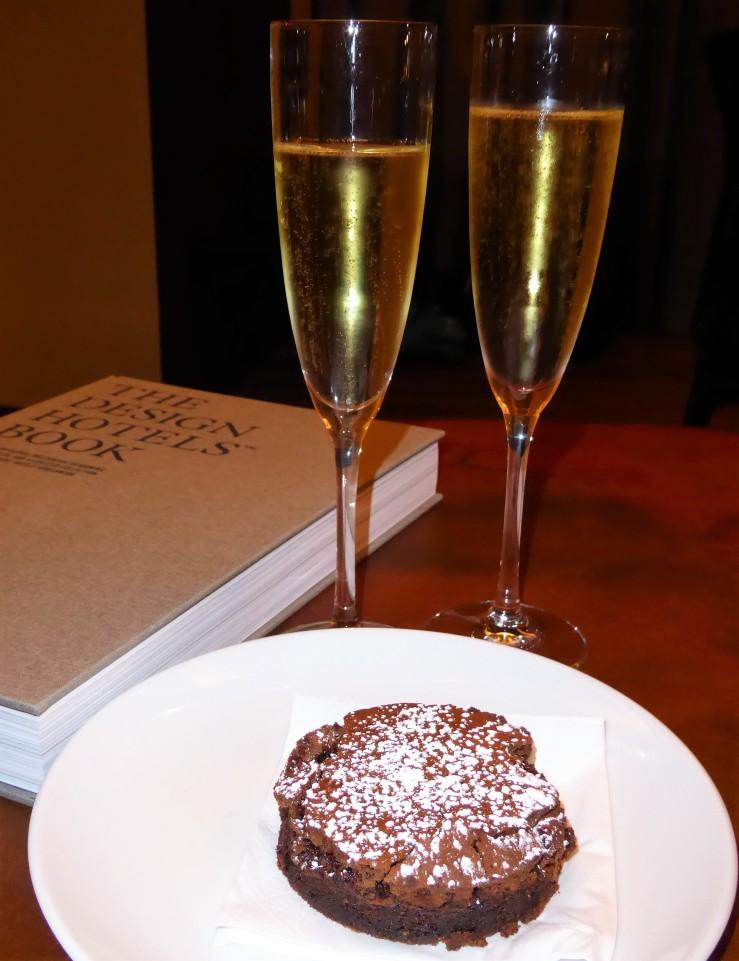 hotel anniversary celebration