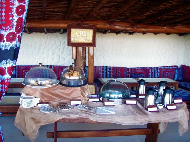 tea room Zanzibar