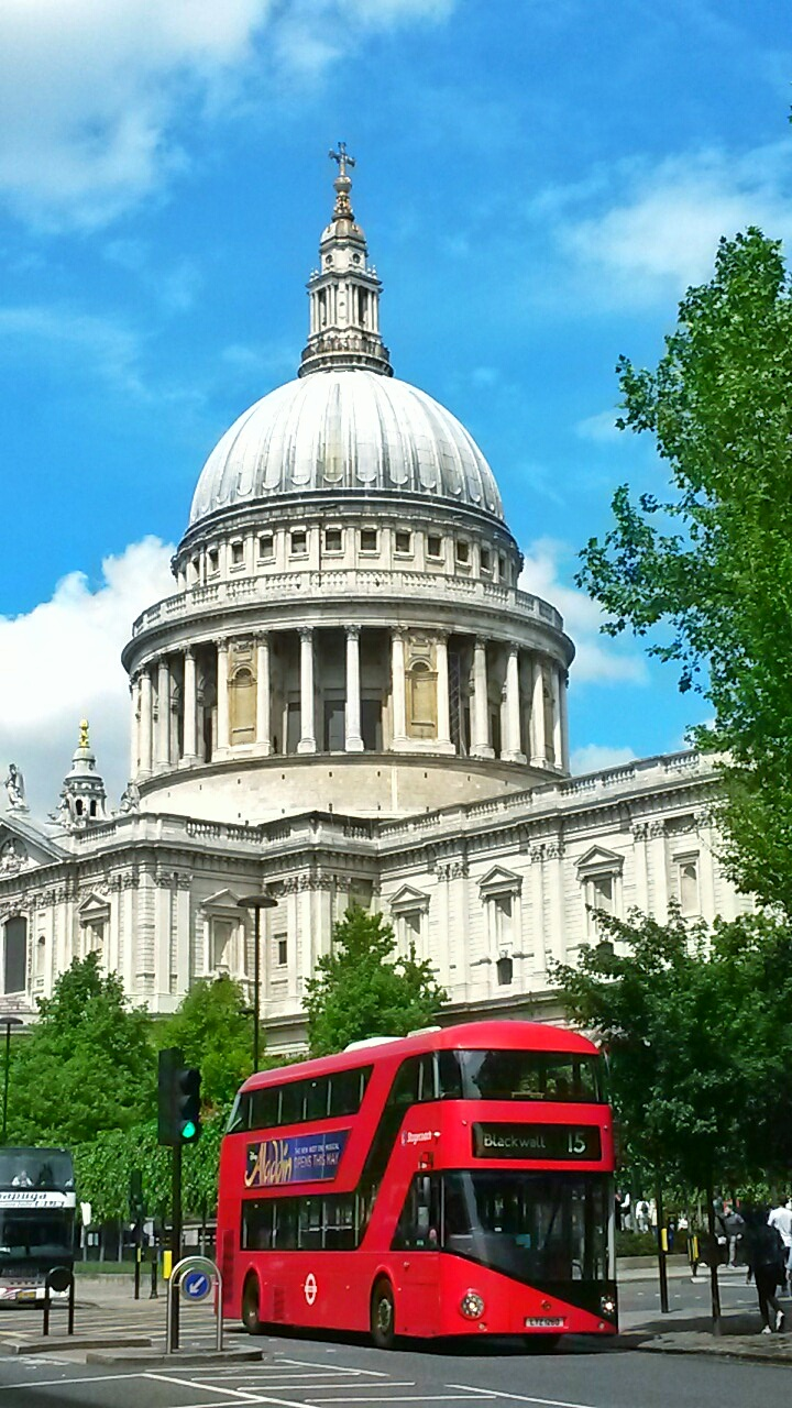 St Paul's Cathedral London Bus