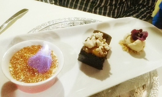 Creme Brulle Brownie Ice Cream