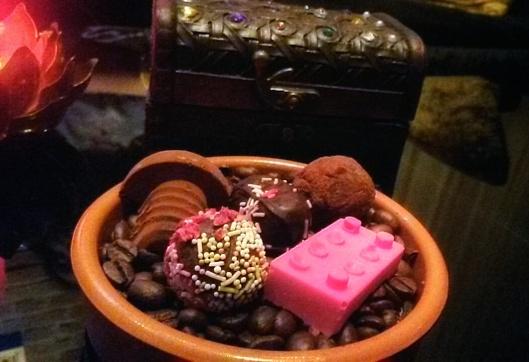handmade chocolate petits fours