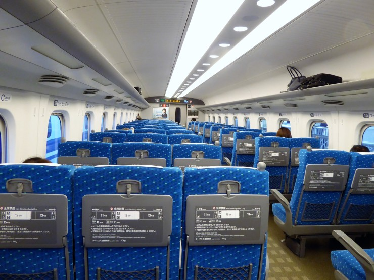 Japan Shinkansen Bullet Train Tips