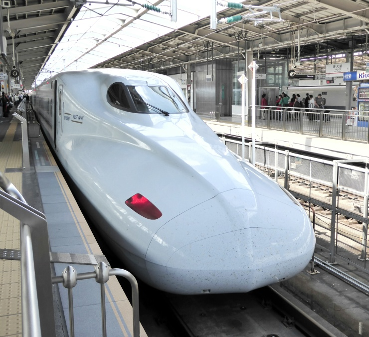 Bullet Train Travel Japan