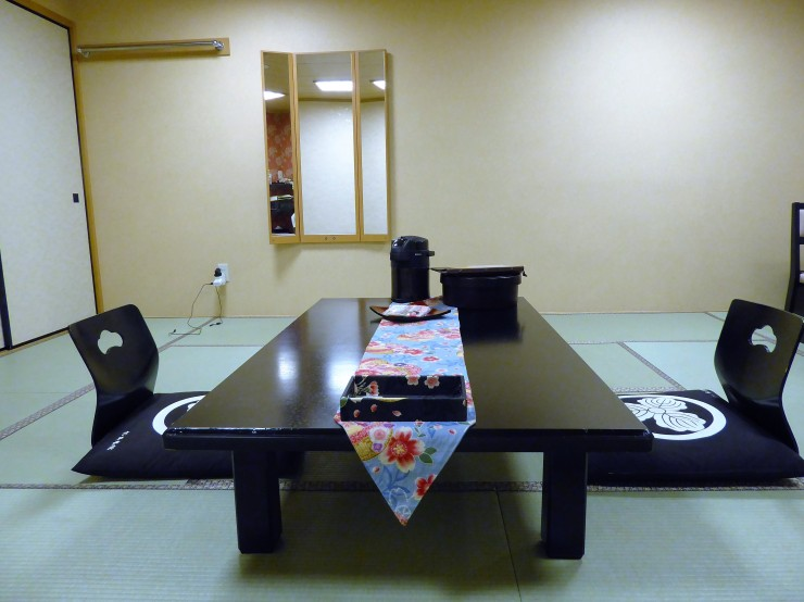 inside Japanese Ryokan interior