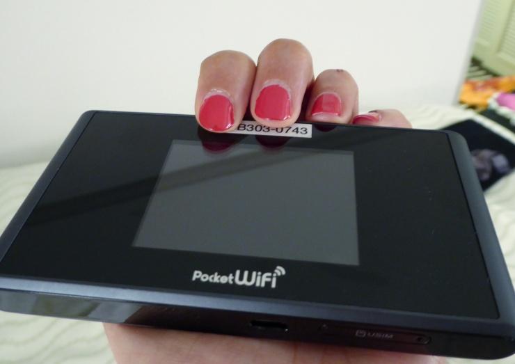 Japan Rail Pass Pocket Wifi