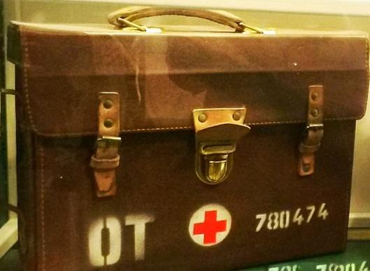old medical doctors bag