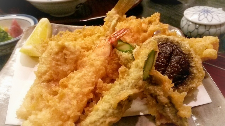 Tempura restaurant Shinjuku Tokyo