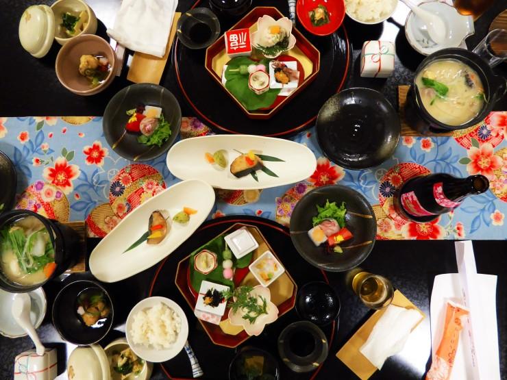 Kaiseki Dinner Kyoto Ryokan