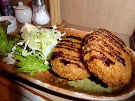 fried pumpkin Korroke Japan