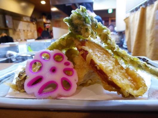 what to eat in Japan tempura