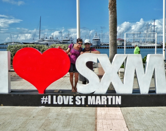 Saint Martin sign Caribbean