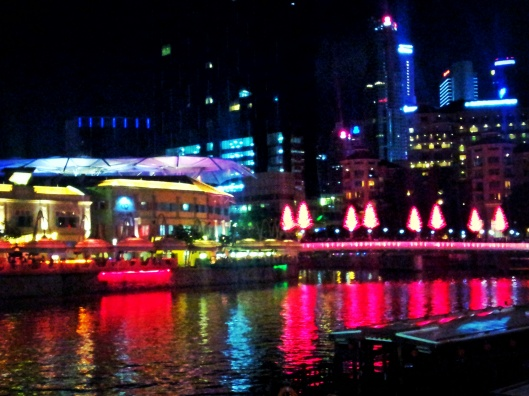 Clark Quay Robertson Quay at Night