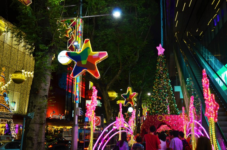 Orchard Road Christmas Lights