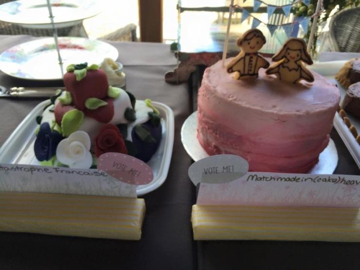 flower cakes for weddings
