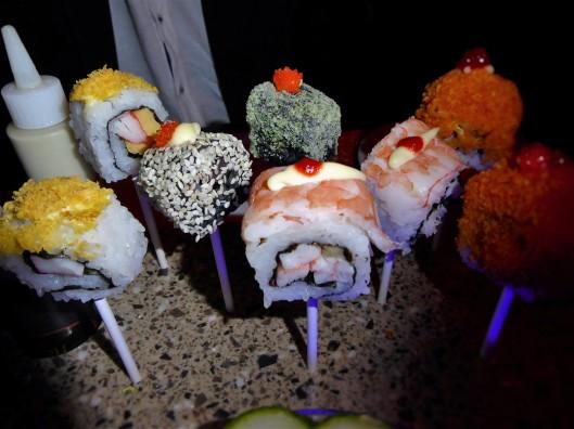 Cruise Ship Sushi Lollipop