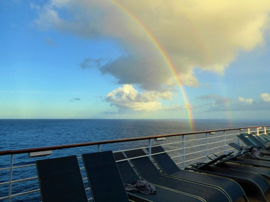 rainbow ocean view