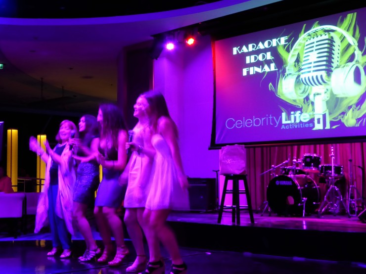 Cruise Ship Karaoke Idol Competition
