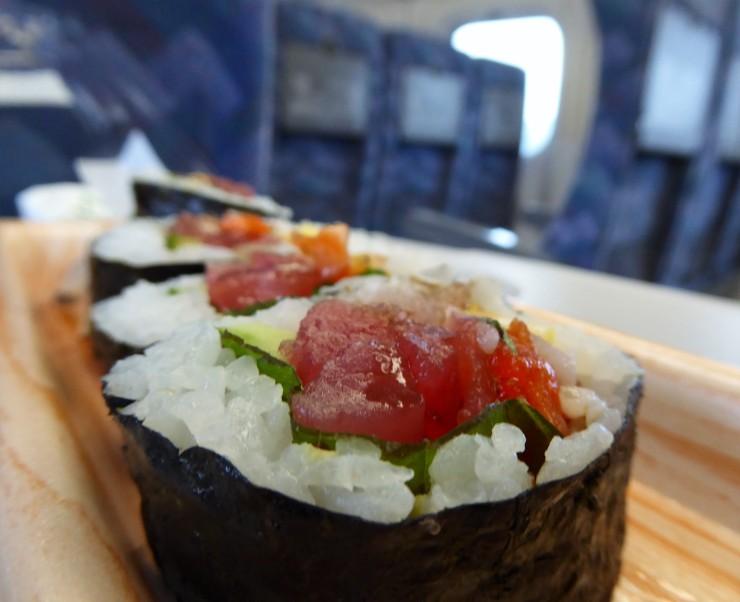 takeaway sushi Japan