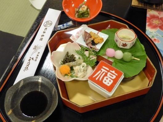 Kyoto traditional Kaiseki Dinner in Ryokan