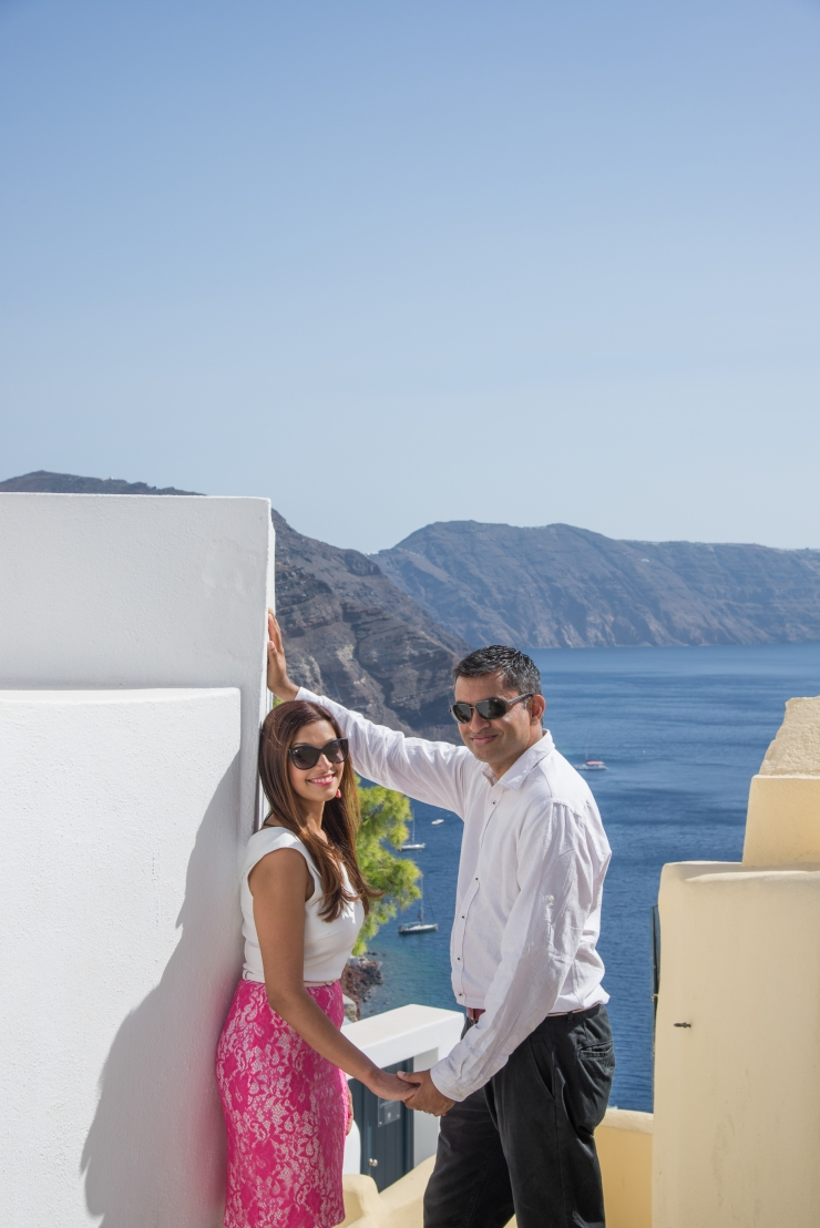 Santorini photography Caldera View