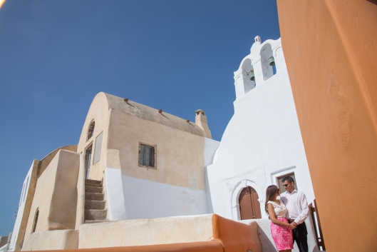 Romantic Couples Photo Shoot Santorini