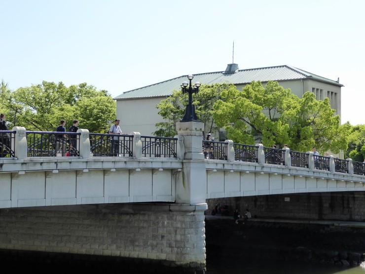 bridge Hiroshima peace park