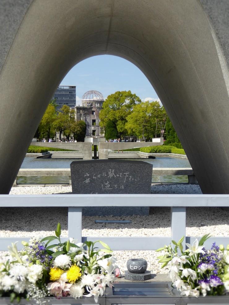 visiting Hiroshima travel blog post