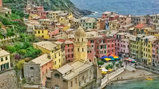 Vernazza best viewpoints