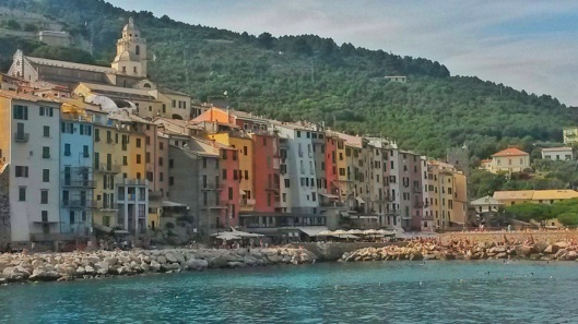 Porto Venere Colourful Buildings