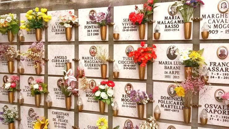 Monterosso cemetery Cinque Terre
