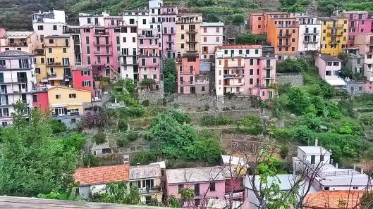 Cinque Terre Villages Manarola Italy