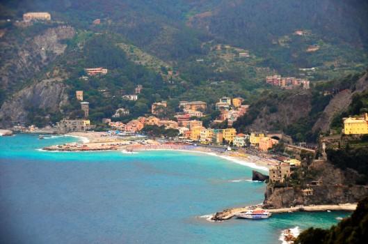 Monterosso Cinque Terre beach