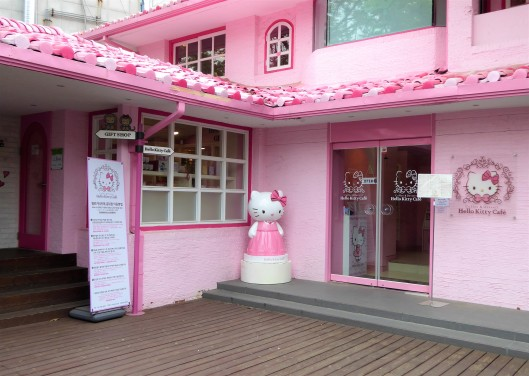 Hello Kitty Cafe Seoul