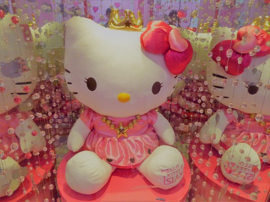 Hello Kitty coffee shop Seoul