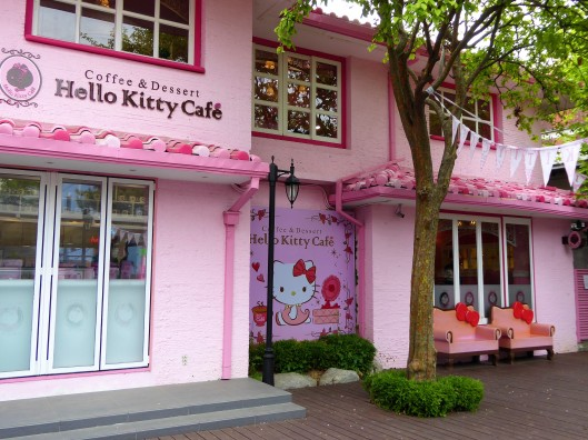 Hello Kitty Coffee Dessert Shop