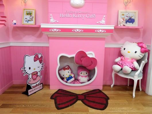 Hello Kitty Cafe Hongdae Seoul