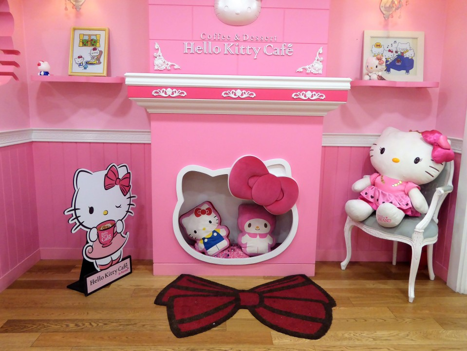 Hello Kitty Cafe Hongdae Seoul