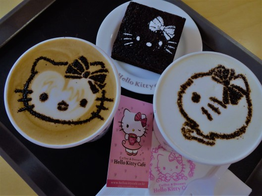 Hello Kitty cafe menu