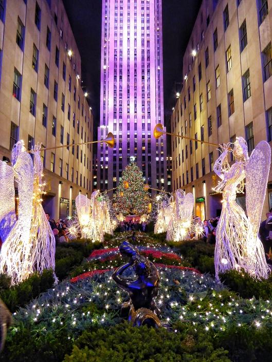 Rockefeller Plaza Christmas