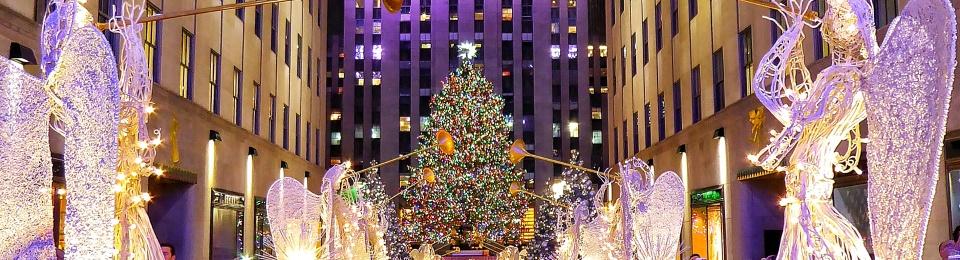 rockefeller plaza christmas - New York Christmas Time