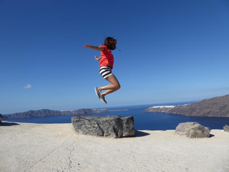 Santorini holiday photos