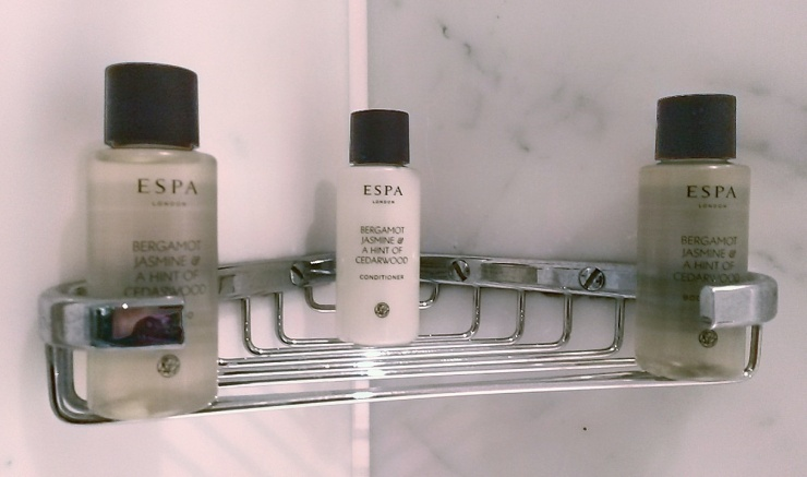Espa toiletries hotel