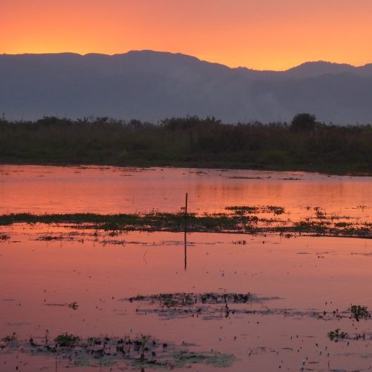 Lake Inle sunset