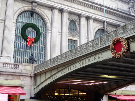Grand Central Terminal Christmas decoration