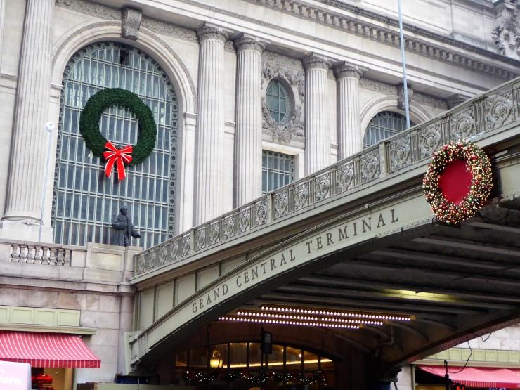 Grand Central Terminal Christmas decoration
