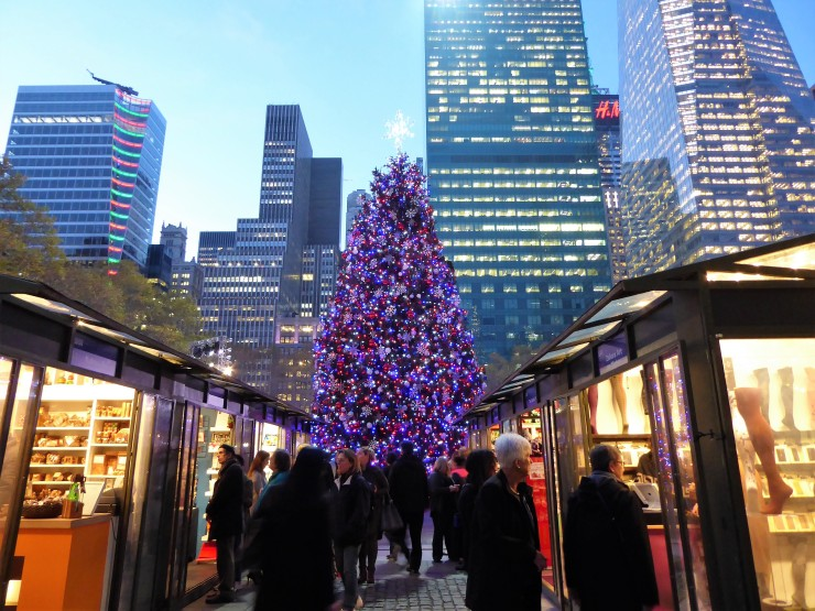 Bryant Park Christmas Market New York