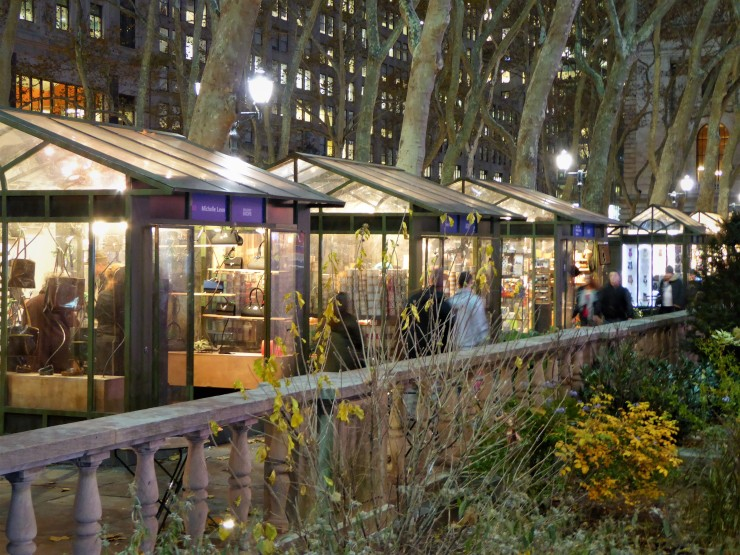 Bryant Park Christmas Market NYC