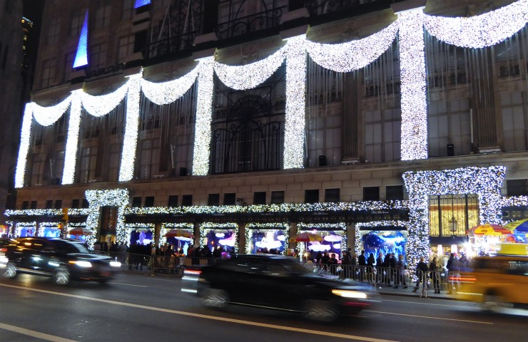 New York at Christmas travel blog