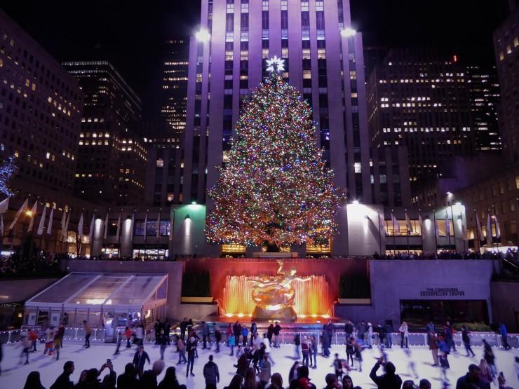 festive Christmas places New York City